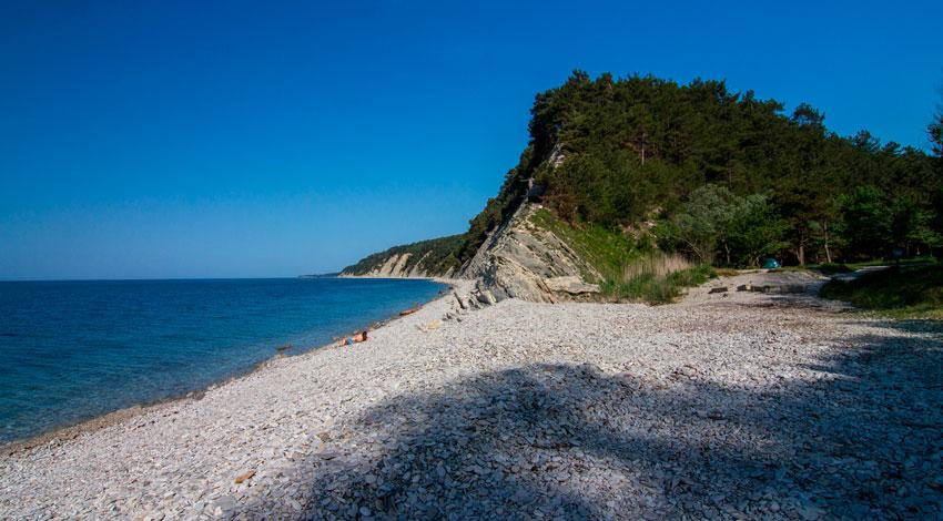 дикие пляжи Бетта Архипо-Осиповка
