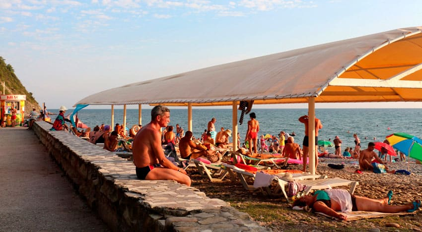 пляж санатория «Криница