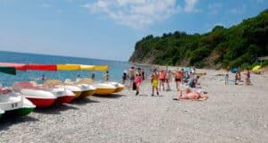 отдых пляж Криница