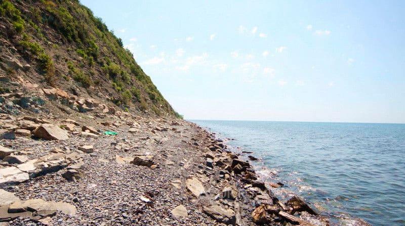 дикий пляж Криницы