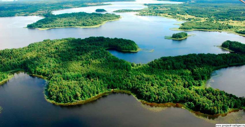 остров Хачин на Селигере