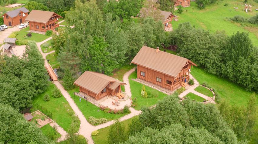 дома для отдыха на озере Селигер