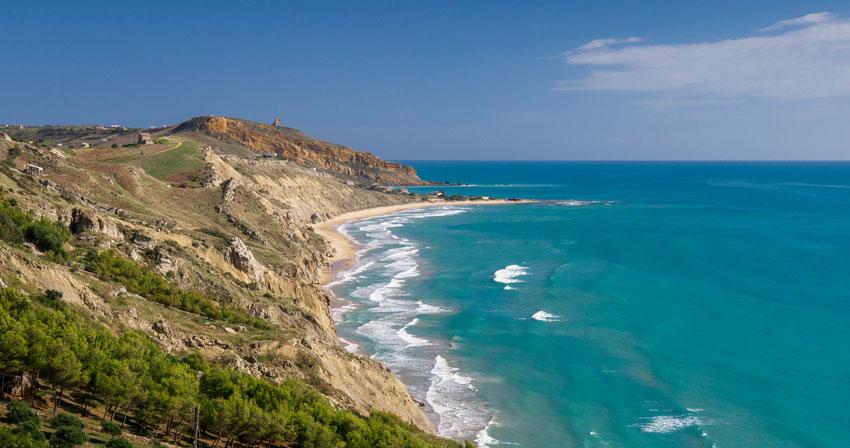 пляжи побережья Супсех